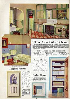 Interior Color || Vintage Kitchen | by Daily Bungalow