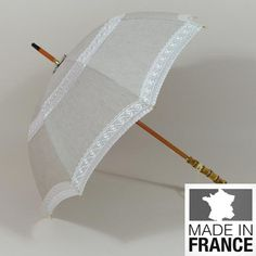 Ombrelle La Reine. Modèle de grande classe fabriqué en France.