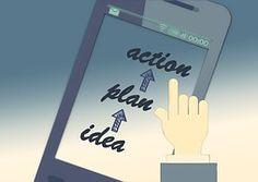 Smartphone, Dedo, Toque, Mão