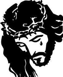 Resultado de imagen para stencil jesus