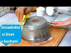 4 kuchyňské triky - šetří čas a úsilí v kuchyni| Perfektní - YouTube Youtube, Make It Yourself, Dessert, Youtubers, Youtube Movies
