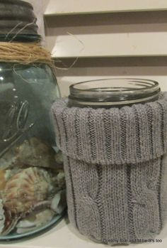 Lastwinter I was loving all the sweater-covered home accessories I was seeing.   With the days getting shorter and colder - and wi...