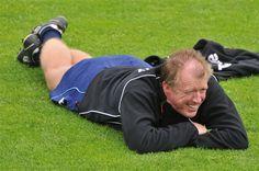 """Rustige eerste training 2012-2013 van """"slechts"""" 2,5 uur."""