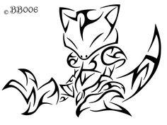 Tribal Abra by Tribal Pokemon, All Pokemon, Pokemon Stencils, Pokemon Sketch, Pokemon Tattoo, Pokemon Birthday, Desenho Tattoo, Pics Art, Tribal Art