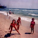 The Z Girls checking out where Dad goes to grad school/teaches (Manhattan) & a day at Seaside Heights. Summer of '94. Allie (8), Emily (4), Kayleigh (5), left to right.