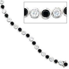 Dreambase Damen-Armband 17 Zirkonia schwarz Silber 19 cm Dreambase http://www.amazon.de/dp/B0097QJ1CG/?m=A37R2BYHN7XPNV