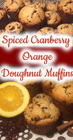 Cranberry and orange is always a great combination in my book and adding cinnamon, nutmeg, ginger, clove and white pepper gives it a ...