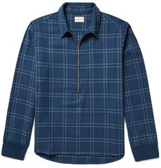 SIMON MILLER Plaid Cotton-Twill Shirt. #simonmiller #cloth #casual shirts