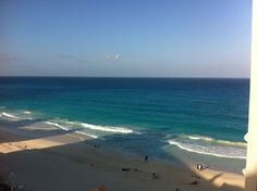 Cancún- The most beautiful water and soft, squishy sand, made for a beach lovers paradise.