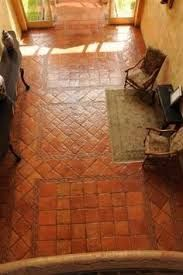 Resultado de imagen para homes with mexican clay floor tiles