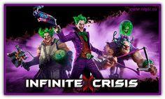 Infinite Crisis - новая клиентская 3Д онлайн игра в жанре MOBA, динамичная экшен с элементами стратегии в реальном времени