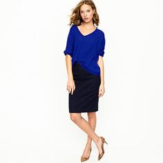 No. 2 Pencil Skirt from J.Crew
