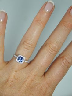 Tanzanite Ring a little small but cute