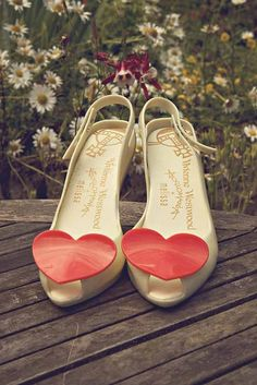 Vivienne Westwood shoes for Emily's wedding © Oscar & Rose Photography