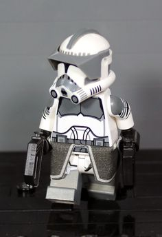 Clone Army Customs | P2 Shock Gray Commander