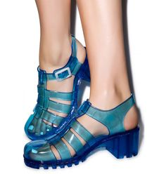 Wanted Gumball Jelly Sandal