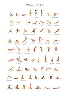 yoga poster  ashtanga yoga yoga und poster