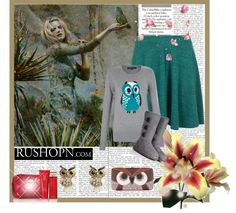 """""""Hoo?"""" by crabby-wer ❤ liked on Polyvore"""