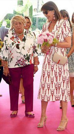 Flower Show 2017 Monaco Princess Caroline