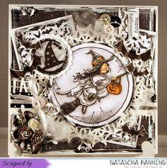 Halloween Karte mit Mo Manning Motiv: http://nataschas-blog.blogspot.de/2015/10/deep-ocean-challenge-115-guest-post.html