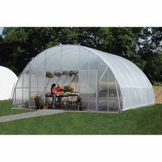 One of these could give us the ability to keep a 4 season garden and perhaps grow some exotics :)