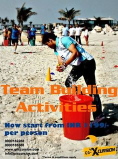 Attractive offers on team building