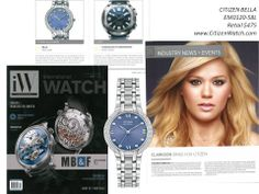 Citizen Blue Bella Featured in March 2014 Issue of @iW Magazine! Plus an article on our newest brand ambassador Kelly Clarkson!