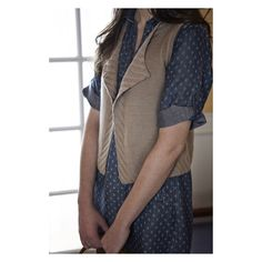 The 7th design from Home & Away is Sycamore.  This minimalist vest was originally designed for an exclusive @fibrespace club using @kelbournewoolens Savannah.  It was then released as an individual pattern and has remained a top Knitbot pattern over the past few years.  Follow the link in my profile to read more!