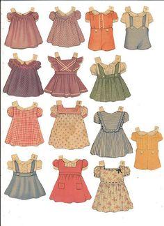 vintage paper dolls 40's