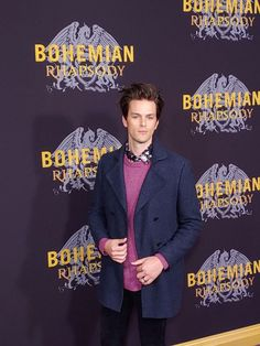 "Dallon Weekes arrives at the red carpet at the premiere for ""Bohemian Rhapsody"" on October 28 at The Paris Theatre in New York City. Emo Photos, The Brobecks, Dallon Weekes, Crush Love, Daddy Long, Old Music, Panic! At The Disco, Emo Bands, Paramore"
