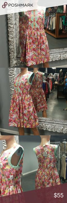 🌻NWT MATILDA JANE Flower Dress Brand new with tags and adorable.   Why SHOP MY Closet? 💋Most NWT or Worn Once 💋Smoke/ Pet Free 💋OVER 750 🌟🌟🌟🌟🌟RATINGS & RISING! 💋TOP 10% Seller  💋TOP RATED 💋 FAST SHIPPER   💋BUNDLES 20% OFF 💋EARN VIP $$$- SPEND ANYTIME  💋QUESTIONS?? PLEASE ASK! ❤HAPPY POSHING!!! 💕 Matilda Jane Dresses