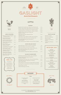 cute menu