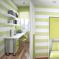 Stripes Vinyl Wall Decal  7.5  5.5 Or 4.5 Width  Home by FabDecals