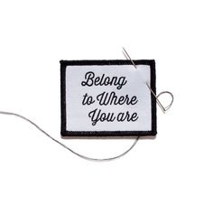 The Creatørs Club • The belong to where you are badge