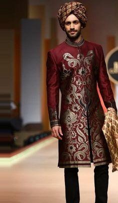 ideas indian bridal wear men ux ui designer for 2019 Wedding Dresses Men Indian, Wedding Dress Men, Wedding Men, Designer Wedding Dresses, South Indian Bridal Jewellery, Indian Bridal Wear, Latest Traditional Dresses, Indian Groom Wear, Indian Kurta
