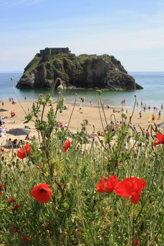 St Catherine's Island, off Tenby, Pembrokeshire, Wales. There is an arch way running through the island. Local folklore says if a man passes through the arch he  will be turned into a crab and if a woman passes though she will become a mermaid.