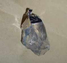 Wholesale 5pcs/lot Silver Plated Natural Quartz Crystal Pendant for Necklace $23.20