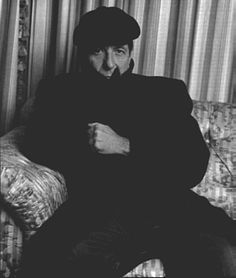 "Photograph by Bruce Weber. From ""No Mercy - Leonard Cohen's Tales from the Dark Side"" by Anthony DeCurtis, Rolling Stone, January 21, 1993."