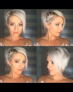 Cute gonna have to try this hair style with the side braid