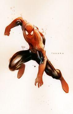Spider-Man by Marcio Takara *
