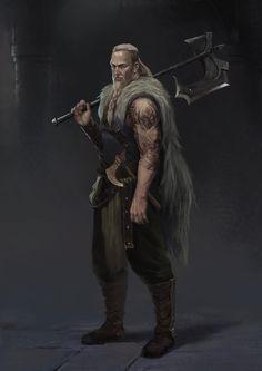 ArtStation - warrior, xingyue wang