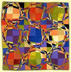 Ellin Larimer: Fiber Artist - Curvilinear and Counterpoint Series