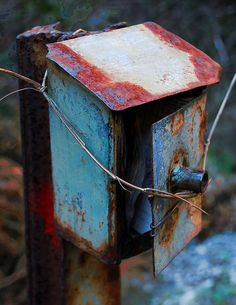 Abandoned mailbox - Achaea, Greece