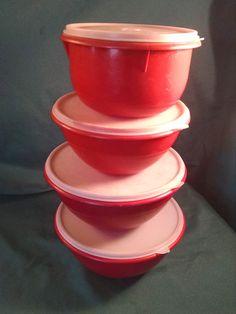 Vintage Servalier Tupperware Servalier by Vintagepetalpushers