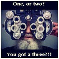 ¿Uno o dos?  ¿Tiene tres?