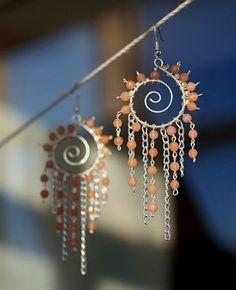 Sunspire earrings #JewelryIdeas