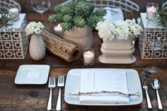 organic tablescape