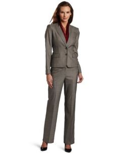 Anne Klein Women's Glen Plaid Pant Suit Anne Klein New York Buy new:  $168.00 (Visit the Most Wished For in Suits list for authoritative information on this product's current rank.)...this is what Im looking for