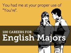 Any english majors out there?
