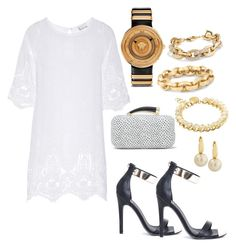 Wening Cintron. It is all about you!? by wening11 on Polyvore featuring polyvore, fashion, style, Miguelina, Missguided, Vince Camuto, Versace, Jessica Simpson, Sole Society, Belpearl and clothing